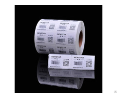 Self Adhesive Packaging Roll Sticker Custom Direct Thermal Paper Labels 60 X 40mm
