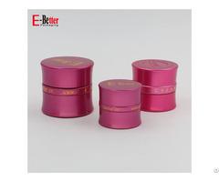 Series Slim Waist Gold Aluminum Cosmetics Cream Packaging Jar