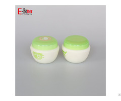 5g 10g 20g 30g 50g Plastic Cosmetic Cream Jars For Baby Care
