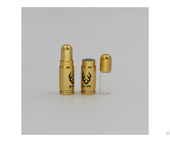 2ml Matte Gold Health Care Powder Bottle In Mini Size