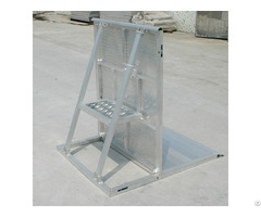 High Quality Aluminum Crowed Barrier For Event