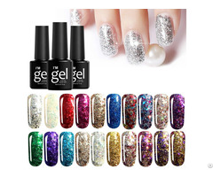 Diamond Uv Nail Gel Polish Soak Off Full Color Long Lasting