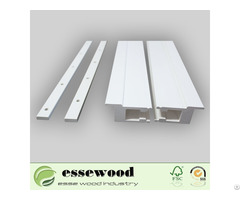 White Window Pvc Shutter Components