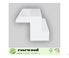 White Primed Pvc Wooden Shutter Profiles