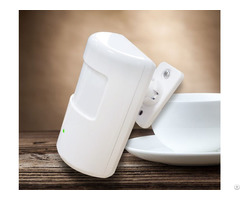 Home Security System Battery Operated Wireless Pir Motion Sensor Made In China