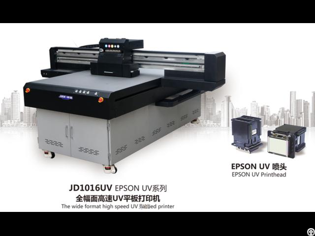 Jd1016 Uv Flatbed Printing Machine Make With Ricoh Gen5