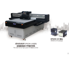 Jd1016 Uv Flatbed Printing Machine Make With Ricoh Gen5 Gh2220 Or Epson L1440 Printhead Printer