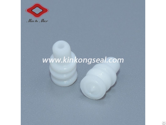 Amp Connector Accessory White Sealing Plug