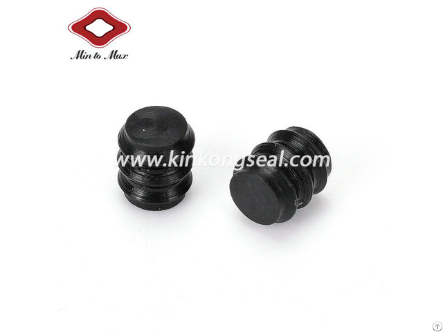 Black Dummy Sealing Plug For Auto Connector