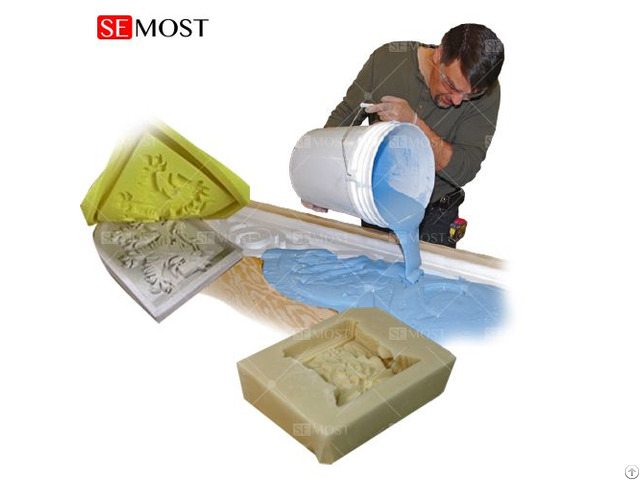 Tin Cure Silicone Rubber For Plaster Gypsum Mold Making