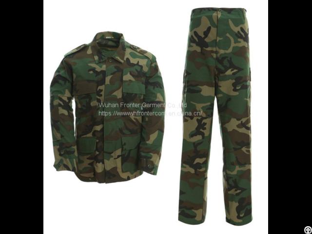 Military Camouflage Battle Dress Uniform