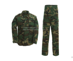 Military Camouflage Battle Dress Uniform