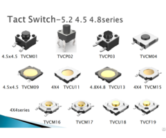 Beneswitch 4 5x4 5 Tactile Switch