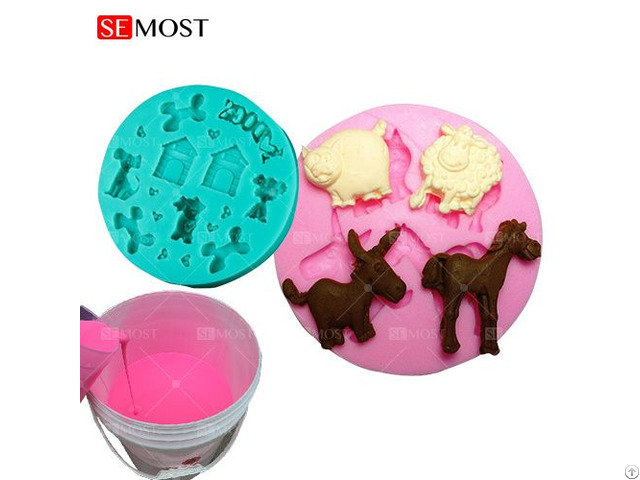 Food Grade For Cake Mold Making Rtv Silicone