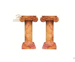 Customized House Decorative Pillars Marble Columns