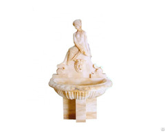 Hand Carved Natural Marble Water Fountain Garden Decoration