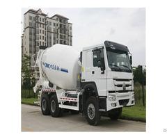 Bw300tp Cnhtc Chassis 10cbm Self Loading Concrete Mixer Truck