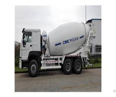 High Quality Cnhtc Chassis 12cbm Concrete Mixer Truck Supplier