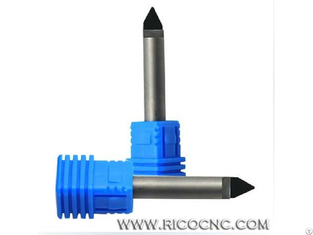 Pcd Diamond Router Bits Granite Stone Engraving Cutters