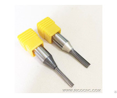 Tct Straight Cutters Double Two Flutes Cnc Router Bits