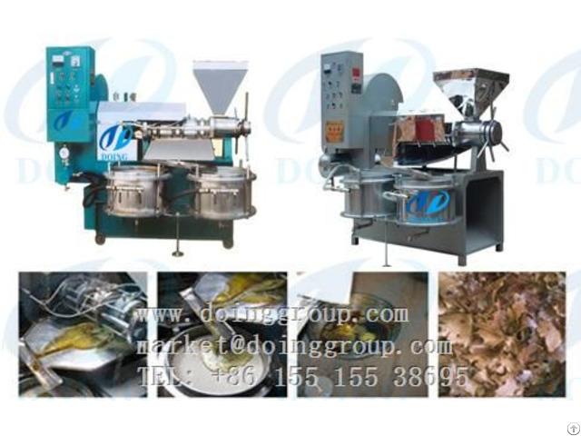 Doing Brand Screw Oil Press Machine