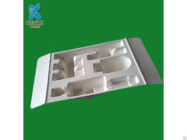 Factory Price Nontoxic Harmless Custom Molded Electonic Pulp Packaging