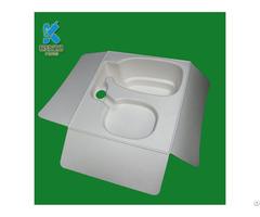 Oem Biodegrable Cosmetic Products Custom Waterproof Pulp Packaging