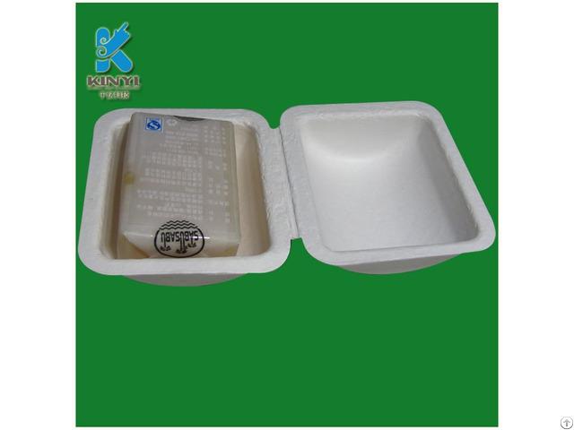 100% Sugar Cane Fiber Kinyi Reusable Soap Pulp Packaging Box
