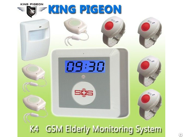 Elderly Protection Gsm Personal Alarm K4