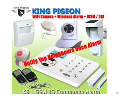 Gsm Sms Home Alarm System With Alert Neighbours Features K8