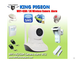 Wifi 3g Gsm Ip Camera Alarm W12