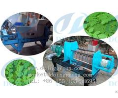 Moringa Seeds Oil Press Machine