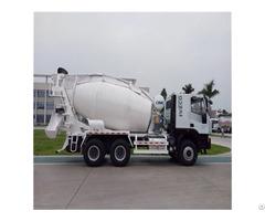 Hongyan Chassis 10cbm Wear Resistant Concrete Mixer Truck