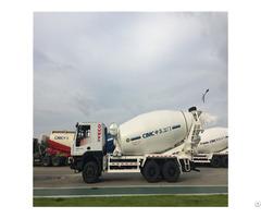 Hongyan Chassis 12cbm Concrete Mixer Truck