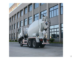 China Competitive Price 7cbm Concrete Mixer Body Packed In Container