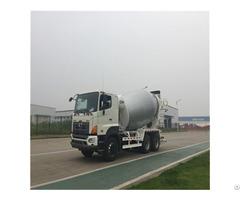 Hino 6x4 Chassis 10cbm Concrete Mixer Truck