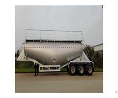High Quality W Shape 32cbm Tri Axle Dry Bulk Tanker With Air Compressor