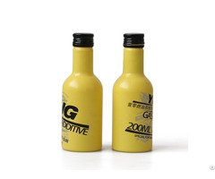 Custom Color 200ml Aluminum Motor Oil Bottle For Car Care Products