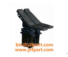 Double Way Foot Pedal Valve For Excavator Parts
