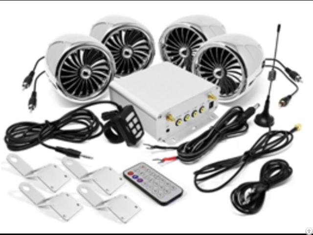 Lcd Display Motorcycle Bluetooth Speakers