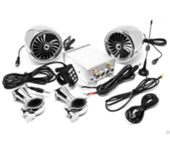 Multi Function Motorcycle Audio System