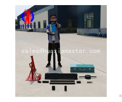 Qtz 3d Electric Soil Sampling Drilling Rig Machine Manufacturer For China