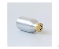 100ml Silver Aluminum Powder Shaker Bottle