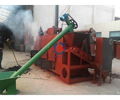 Carbonization Furnace For Wood Charcoal
