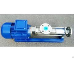 Fg Stainless Steel Screw Pump