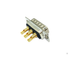 Ip67 3w3 D Type Connector With Solder Wire
