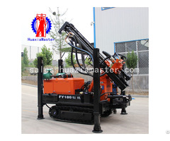 Fy180 Crawler Pneumatic Water Well Drilling Rig Machine Manufacturer For China