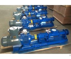G High Pressure Eccentric Helical Pump