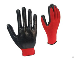 High Quality Factory Price Black Nitrile Gloves For Machinery Maintenance Wholesale