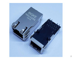 Ingke Ykku 0329nl 100% Cross 0826 1x1t Gh F Single Port Gigabit Poe Magnetic Modular Rj45 Jacks